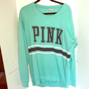 VS PINK soft crew neck sweater.